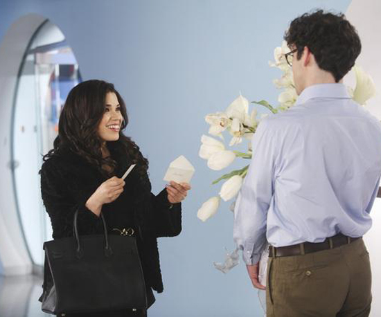ugly betty makeover. Sneak Peek Photos of Betty Suarez#39;s Makeover on Ugly Betty Previous Next
