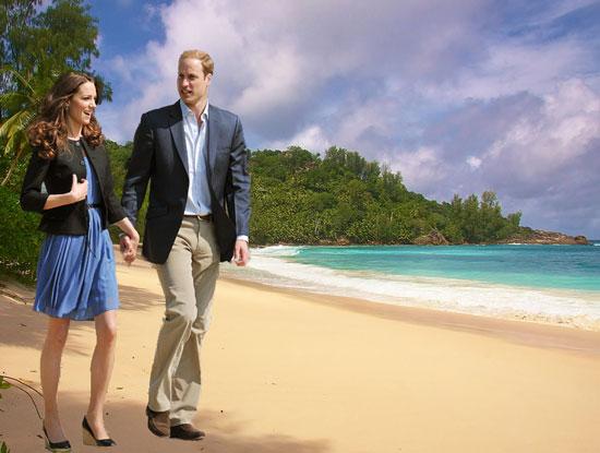 Новые подробности о медовом месяце Кетрин и Уильяма