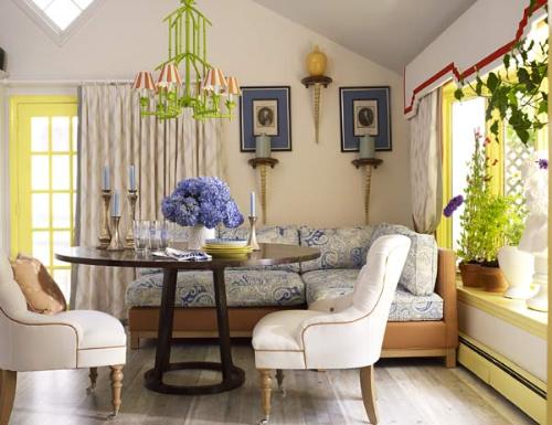 Dining room decorating ideas and more interior design for Small country dining room ideas