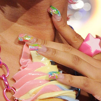 Celebrity Nails From the VMAs 2011