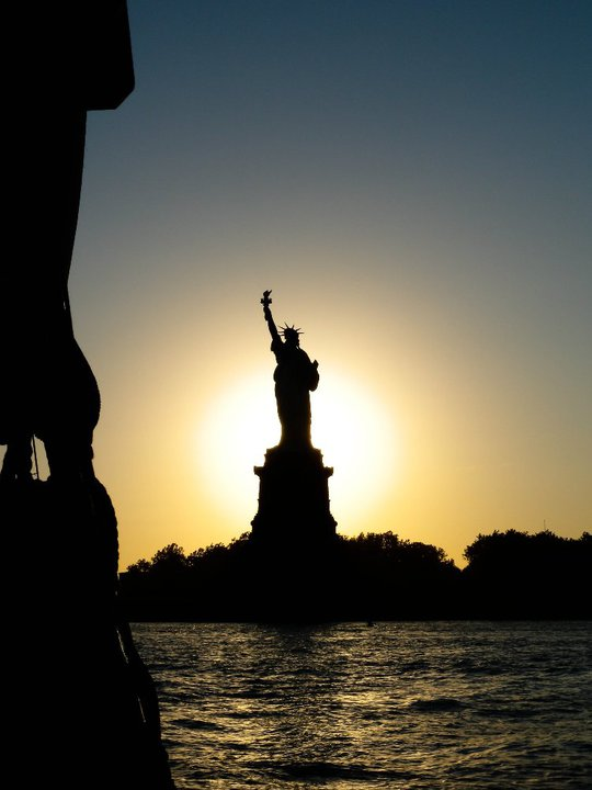 This was taken in NY Harbor last summer with my Nikon P6000. Yesteday was the Statue of Liberty's 125th birthday!